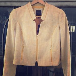 NWT The Limited cropped tweed jacket.